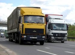 Белорусских перевозчиков пустят на российский рынок в 2016 году