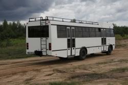 Новое творение от МАЗ – автобус-внедорожник для стран Африки