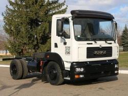 Украинский автозавод представил модель – КрАЗ 4501H2
